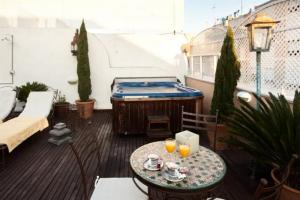 hotel con jacuzzi y terraza sevilla