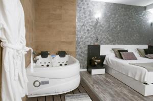 hoteles con jacuzzi en segovia
