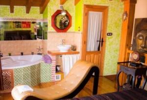 habitacion con jacuzzi avila