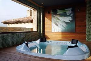 hotel con jacuzzi asturias